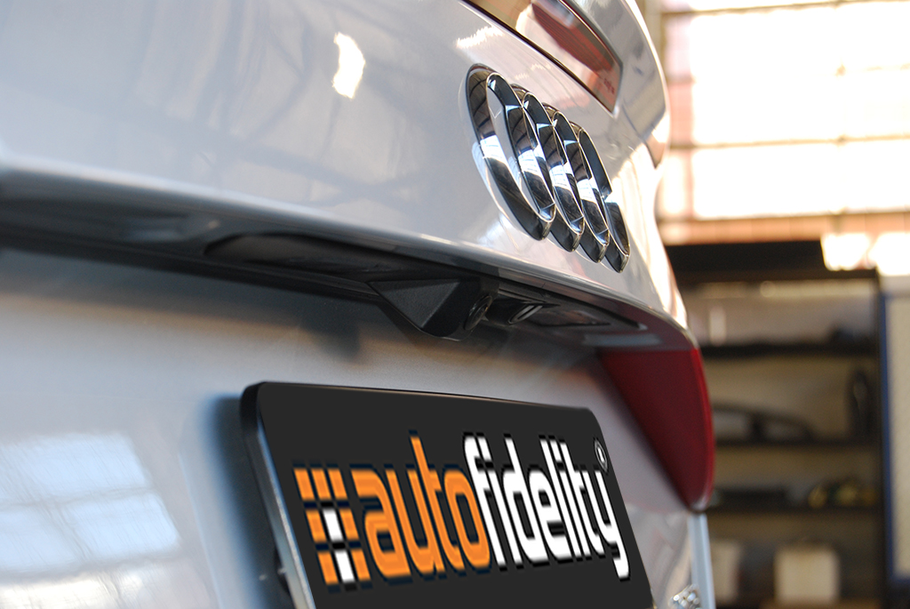 Integrated Rear View Camera System For Audi A3 8P | autofidelity