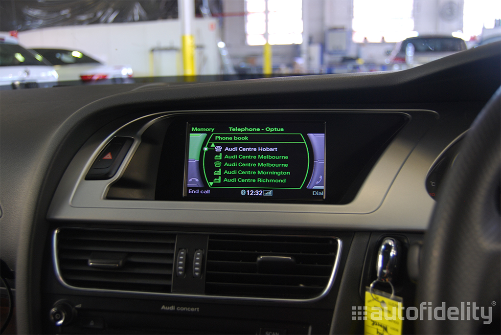 Kufatec Fiscon Audi Basic Plus Integrated Hands Free Bluetooth System Audi A5 8t Autofidelity