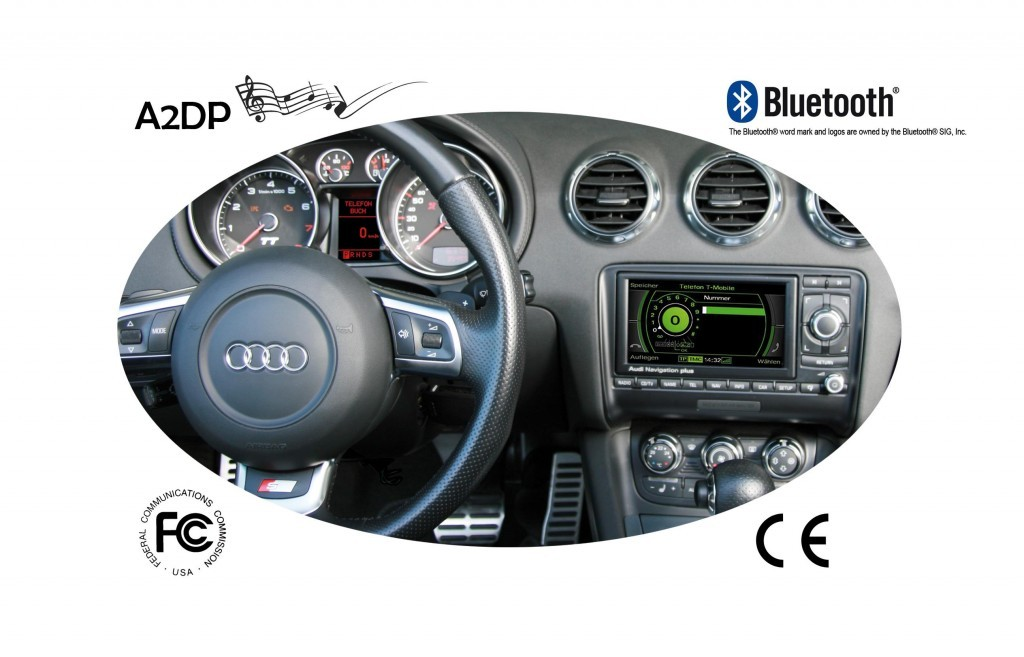 Kufatec Fiscon Audi Basic Plus Integrated Hands Free Bluetooth
