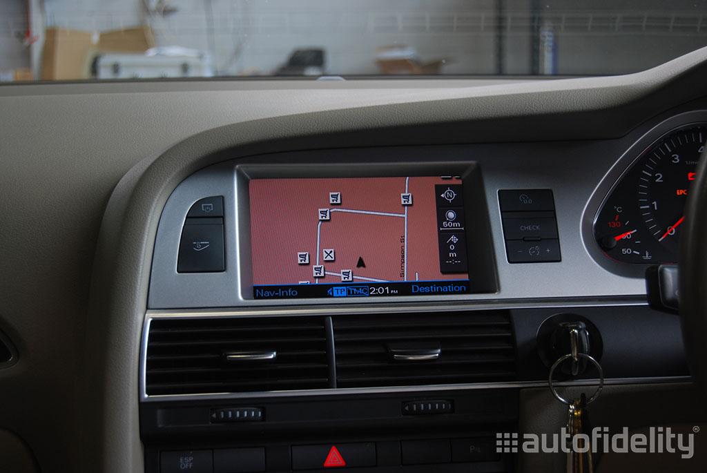 2g mmi dvd based satellite navigation system for audi q7. Black Bedroom Furniture Sets. Home Design Ideas