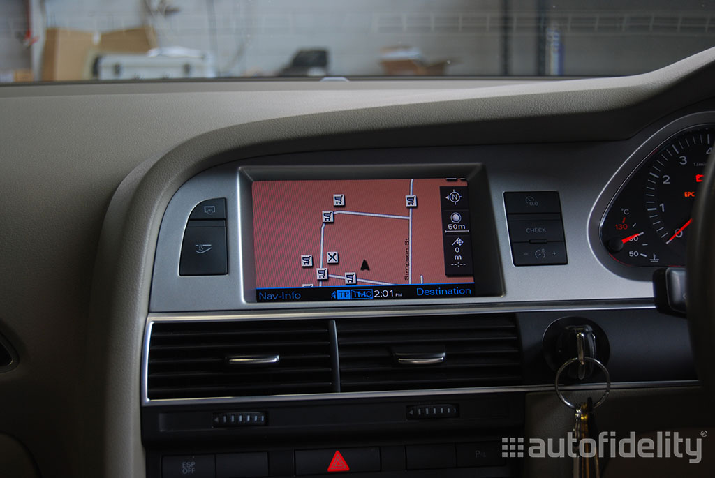 Mmi operating instruction manual audi a6 sat nav.