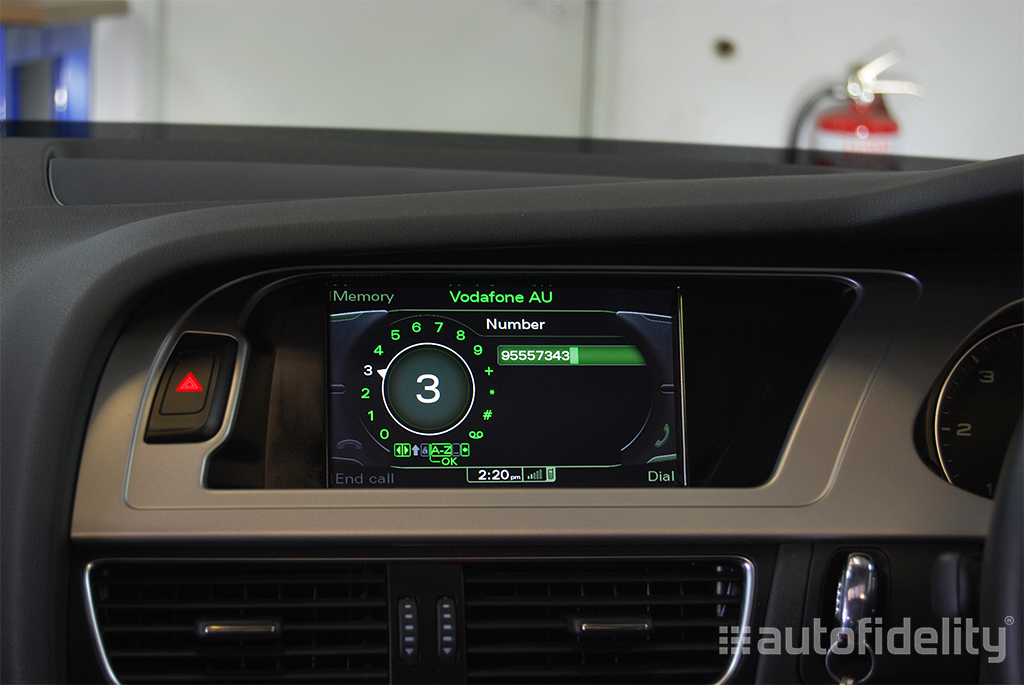 3G MMI Integrated Factory Audi Hands Free Bluetooth System