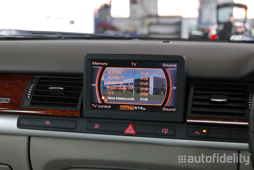 Integrated Tv Tuner Upgrade Retrofit To Audi Mmi System