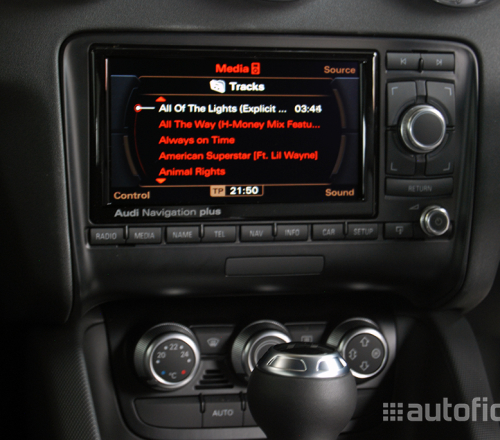 audi music interface with ipod iphone connection for audi. Black Bedroom Furniture Sets. Home Design Ideas