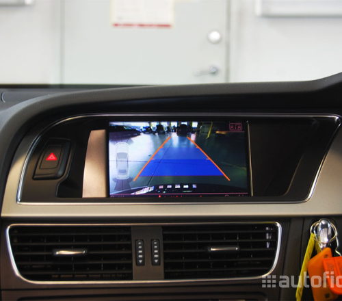 audi parking system advanced integrated rear view camera. Black Bedroom Furniture Sets. Home Design Ideas