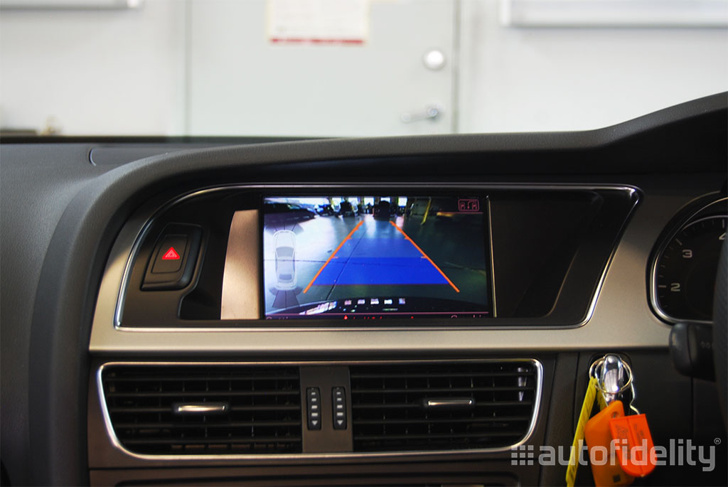 Audi Parking System Advanced Integrated Rear View Camera System For ... e3b74cc49