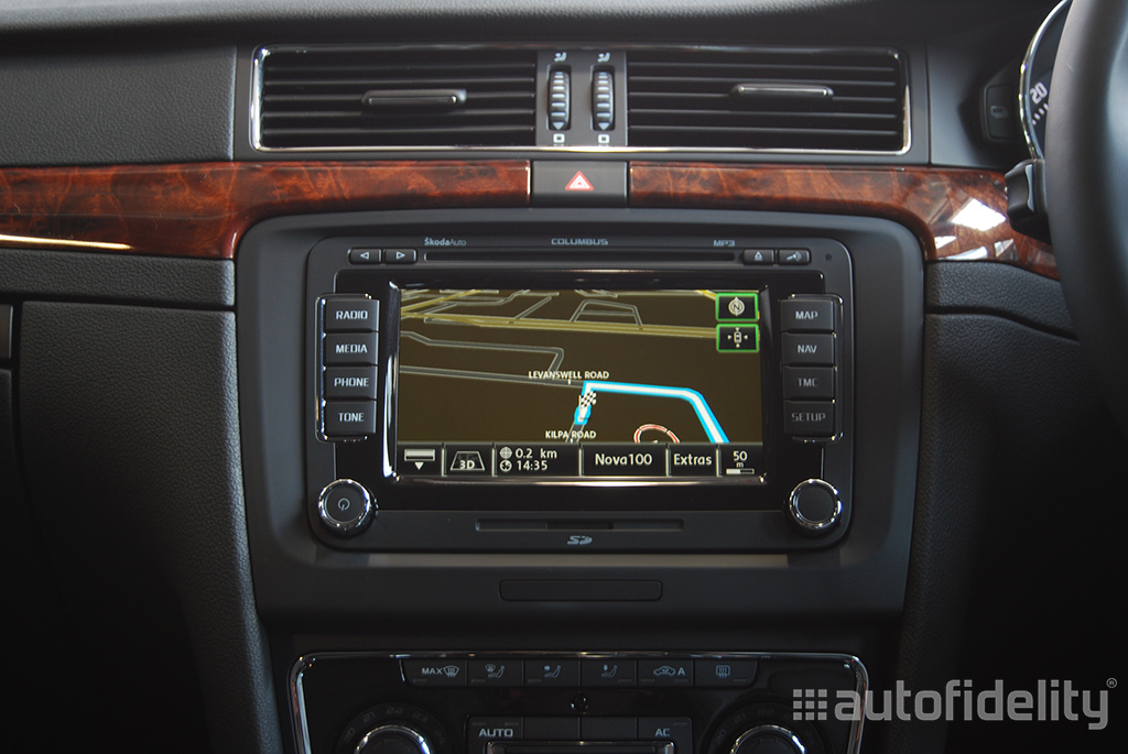 Columbus Touchscreen Integrated Satellite Navigation System