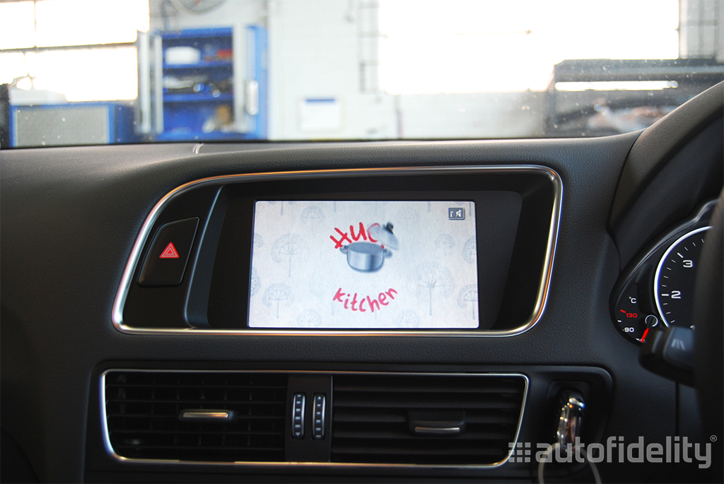Integrated Tv Tuner Upgrade Retrofit To Audi Mmi 3g And