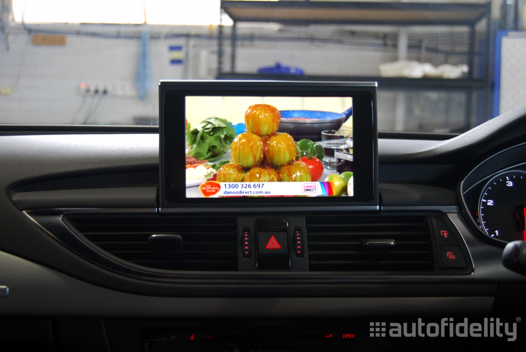 Integrated TV Tuner Retrofit to Audi MMI System For Audi