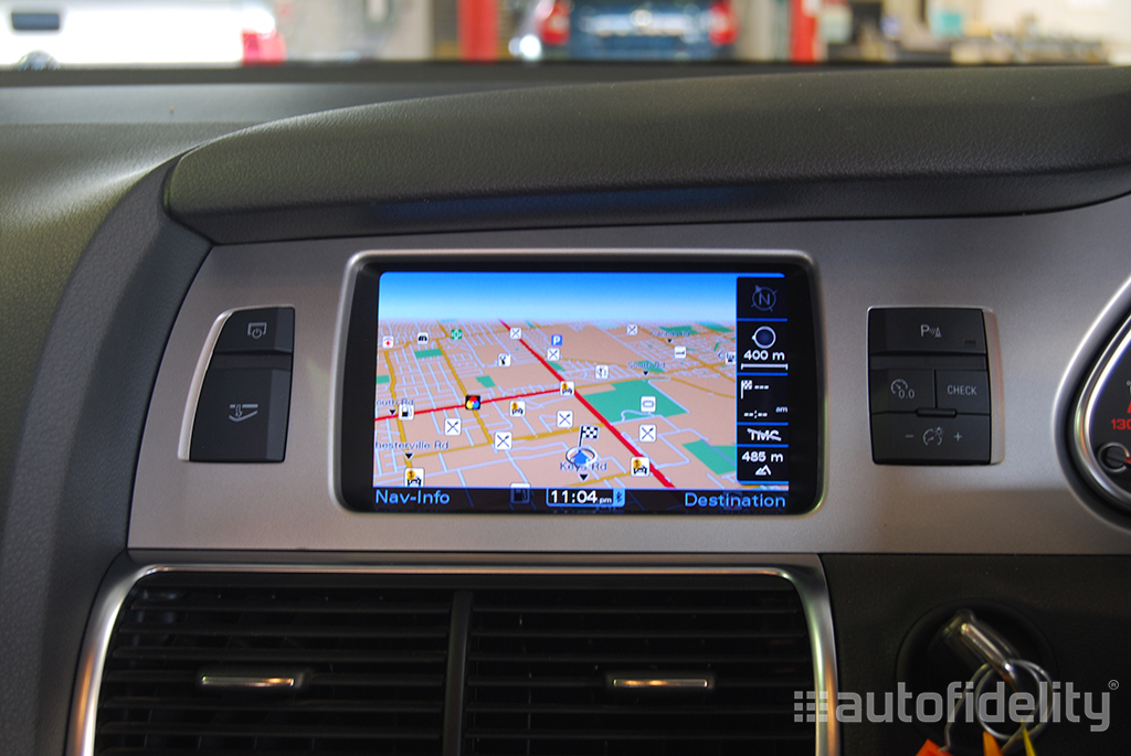 mmi 3g plus navigation system for audi q7 4l | autofidelity