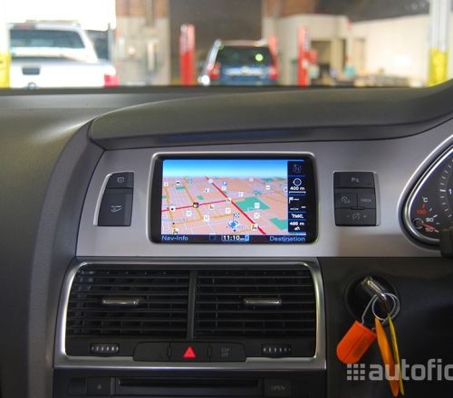 mmi 3g plus navigation system for audi q7 4l autofidelity. Black Bedroom Furniture Sets. Home Design Ideas