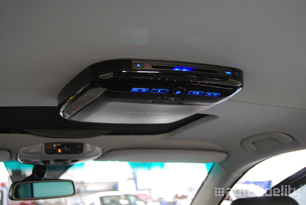 Alpine 10 2 Inch Overhead Roofmount Screen Rear Seat