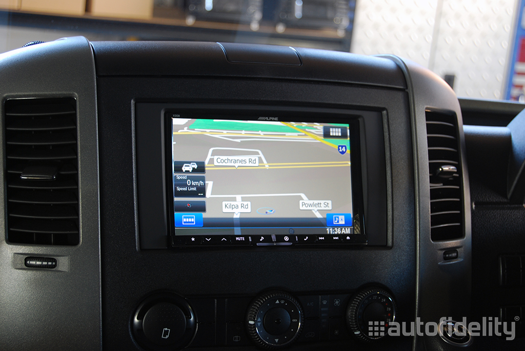 Alpine INE Z928E 8 Inch Touchscreen Navigation with Rear