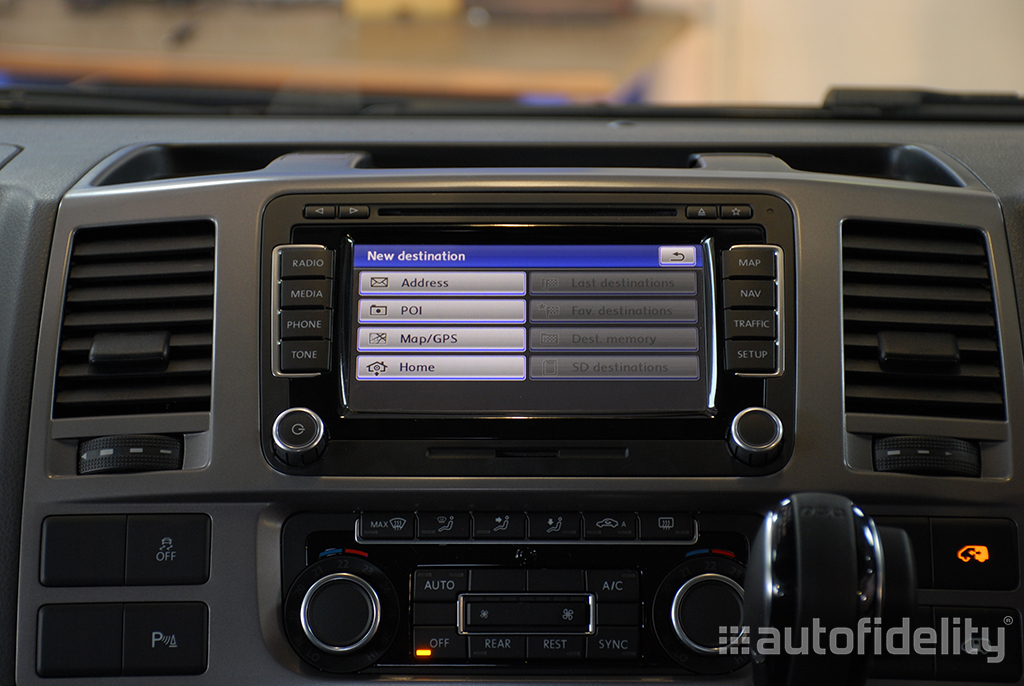 RNS 510 Touchscreen Integrated Navigation System with Integrated