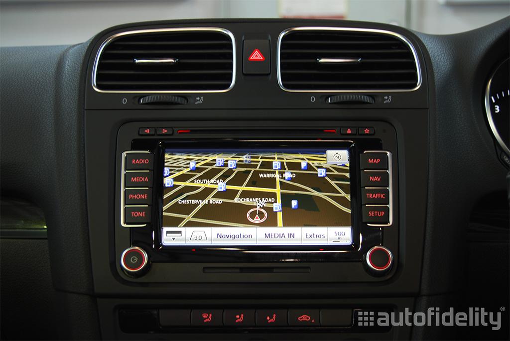 Rns 510 Touchscreen Integrated Navigation System For Volkswagen Rhautofidelityau: Vw Touch Screen Radio At Gmaili.net