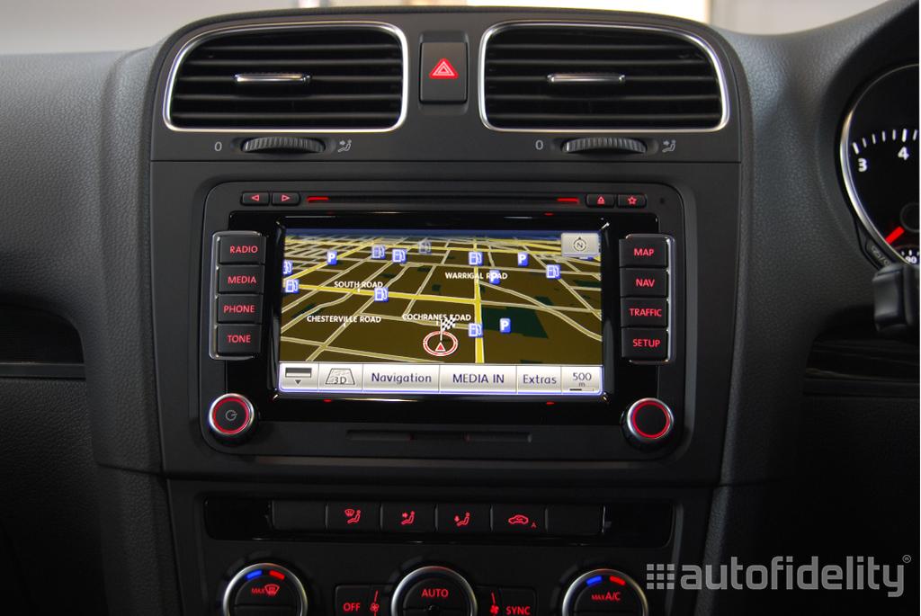 rns 510 touchscreen integrated navigation system for volkswagen golf 6 5k autofidelity. Black Bedroom Furniture Sets. Home Design Ideas