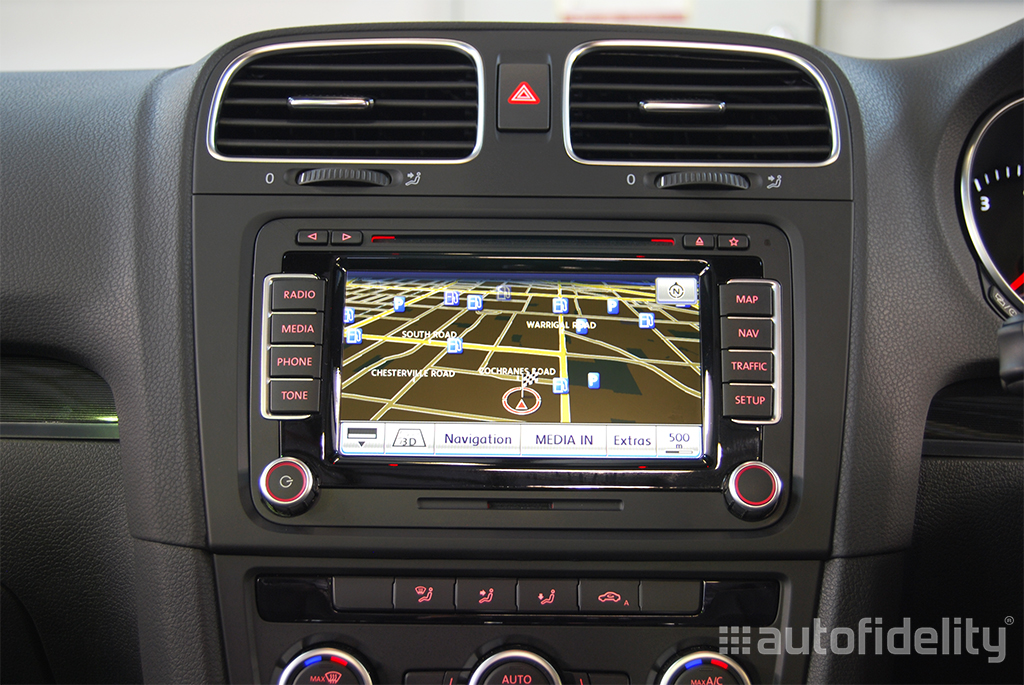 rns 510 touchscreen integrated navigation system for volkswagen polo 6r autofidelity. Black Bedroom Furniture Sets. Home Design Ideas