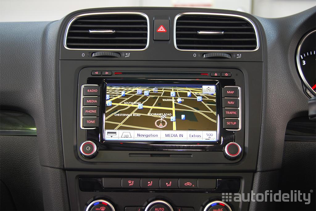 rns 510 touchscreen integrated navigation system for volkswagen scirocco 1k autofidelity. Black Bedroom Furniture Sets. Home Design Ideas