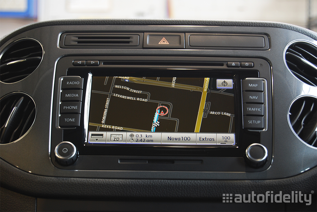 RNS 510 Touchscreen Integrated Navigation System for