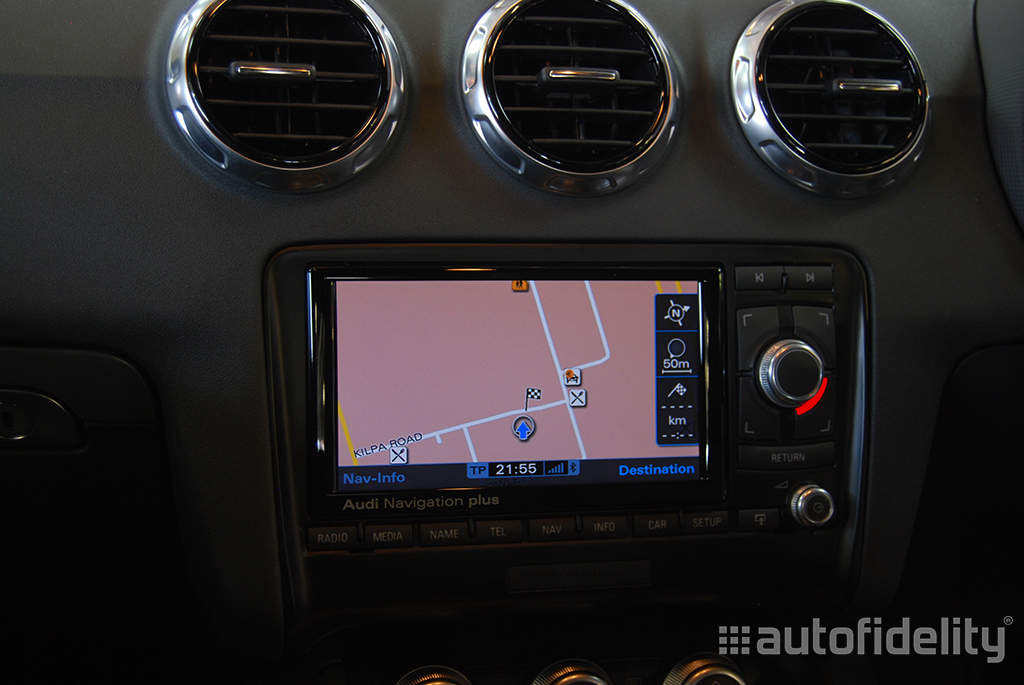 RNS E Factory Audi Satellite Navigation with Mapping Disk