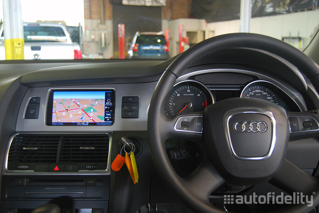 mmi 3g plus factory navigation system for audi a6 4f. Black Bedroom Furniture Sets. Home Design Ideas