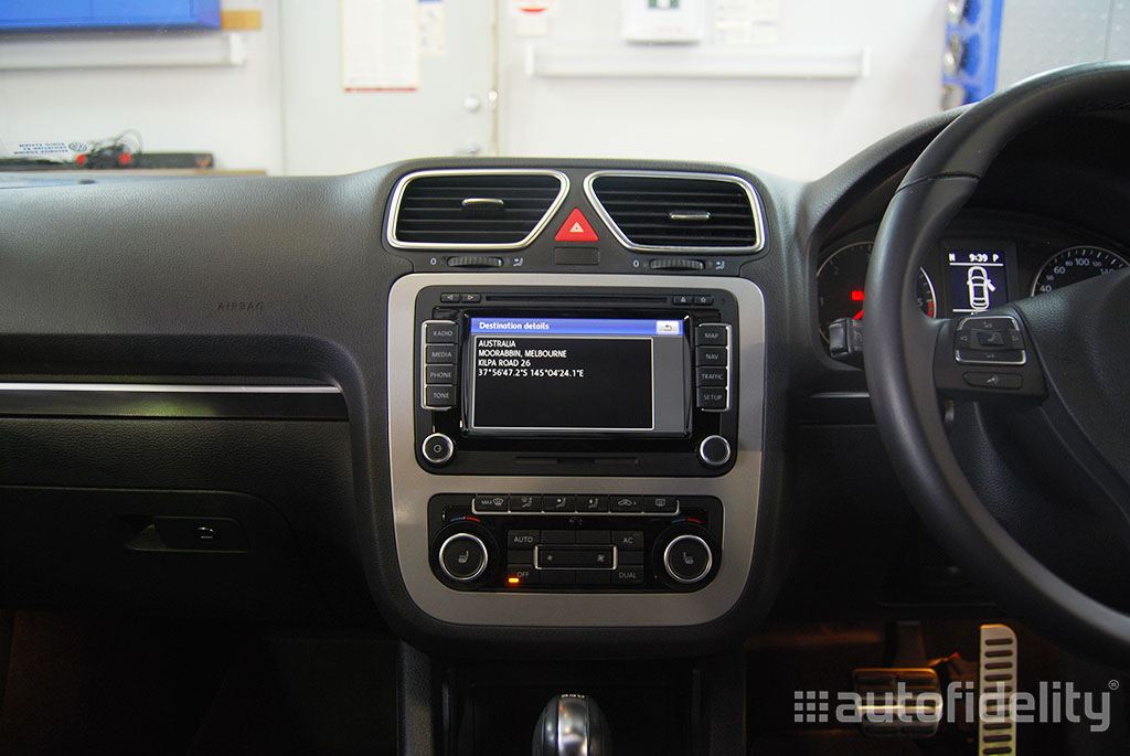 RNS 510 Touchscreen Integrated Navigation System with