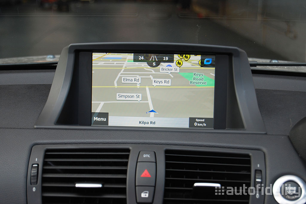 touchscreen integrated navigation system for bmw 1 series. Black Bedroom Furniture Sets. Home Design Ideas