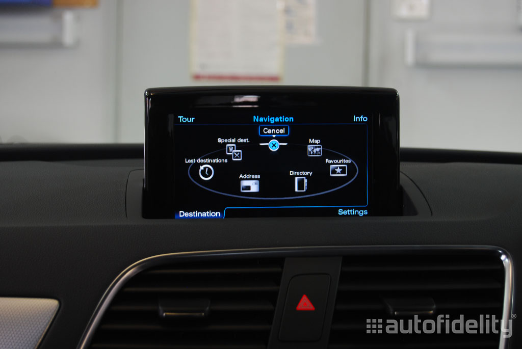 mmi 3g plus factory navigation system for audi q3 8u | autofidelity
