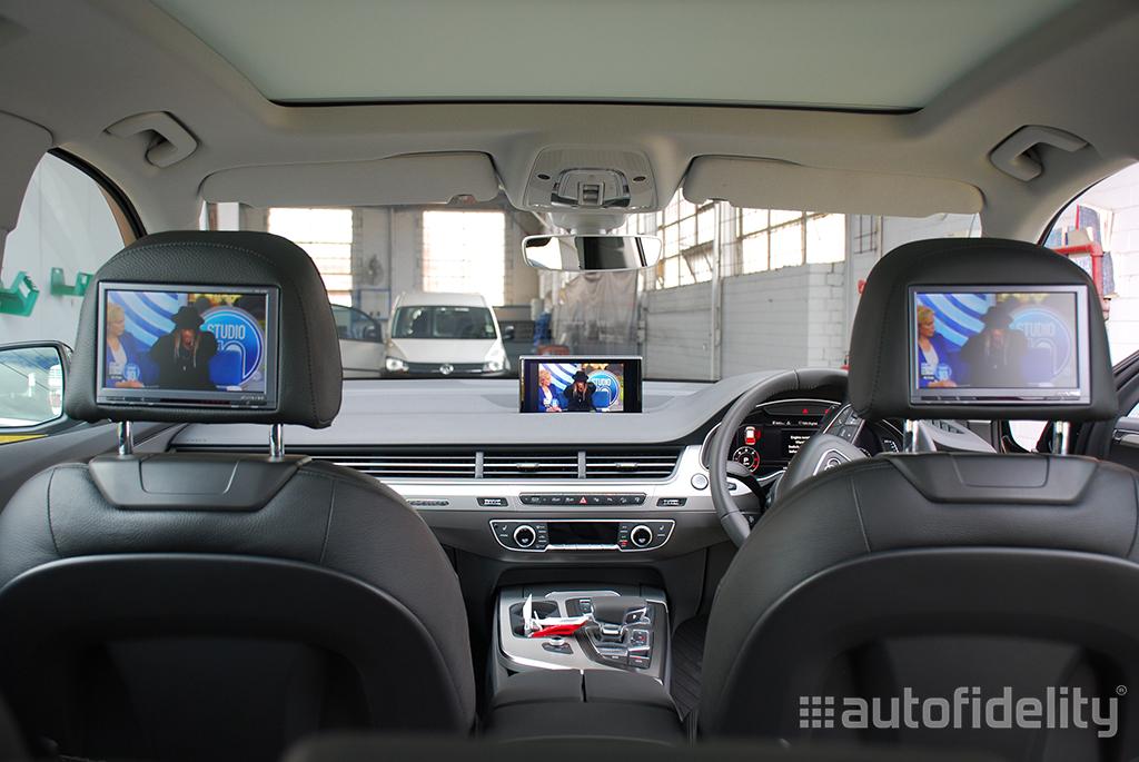 Integrated Tv Tuner Upgrade Retrofit To Audi Mmi System