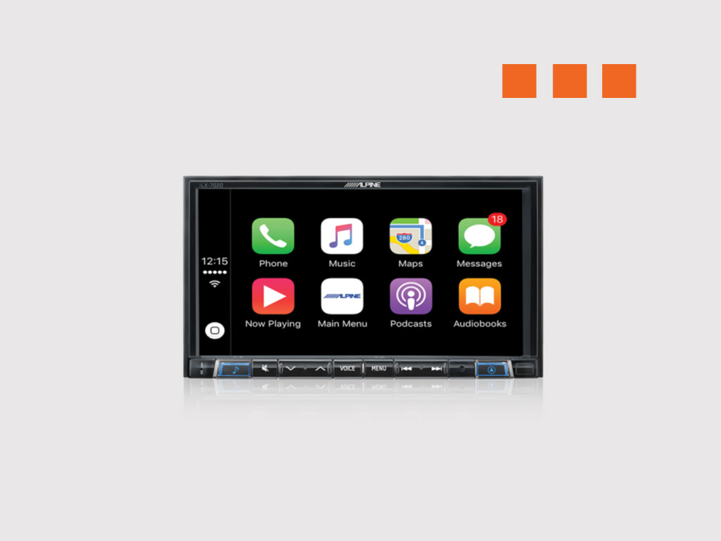 Alpine Ilx 702d Apple Carplay Android Auto Autofidelity 7 Pin Wiring Harness Difference